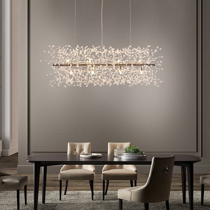 Modern Crystal Pendant Lights Chandelier