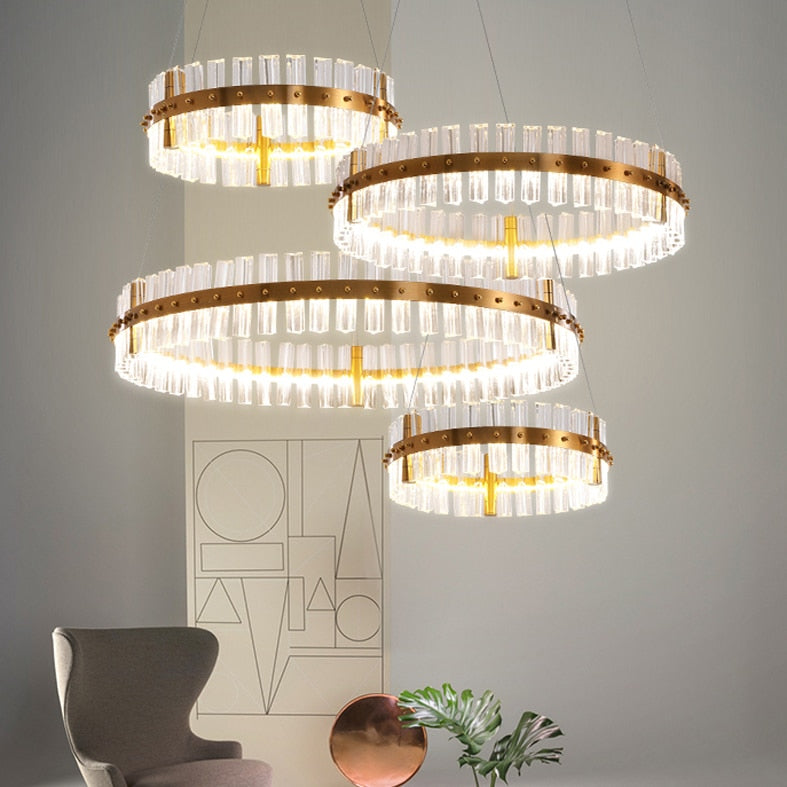 European Style Modern Crystal Luxury Chandelier