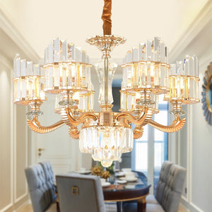 Luxury Modern Crystal Pendant Light Chandelier