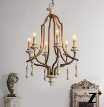 Load image into Gallery viewer, American style Country Vintage Chandelier