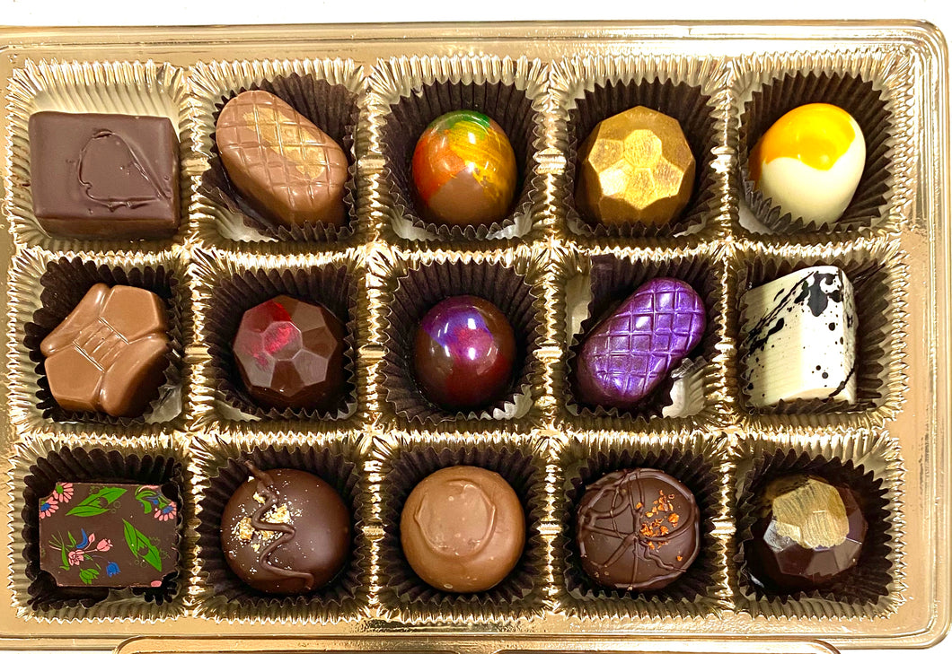 CLASSIC  COLLECTION - 15 piece Truffle assortment