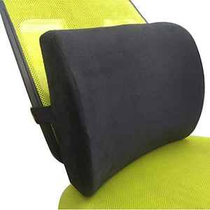 Lumbar Back Support Pillow Therapeutic Orthopaedic Pain Ergonomic Memory Foam Prevent Sciatica Coccyx Tailbone 3D Therapy Chairs Seat Relief Office