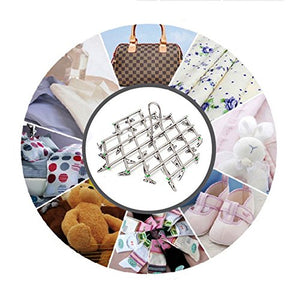 Multipurpose Drying Rack Anti-Wind Clothes Hanger Stainless Steel Swivel Hook Airer Hanger Travel Foldable Clotheshorse Underwear Sock Bra Gloves