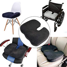 Load image into Gallery viewer, Memory Foam Seat Cushion Back Lumbar Support Therapeutic Orthopaedic Pain Ergonomic Prevent Lower Sciatica Disc Coccyx Tailbone Stress-freeChairs Seat Improve Posture Instant Relief Recliner
