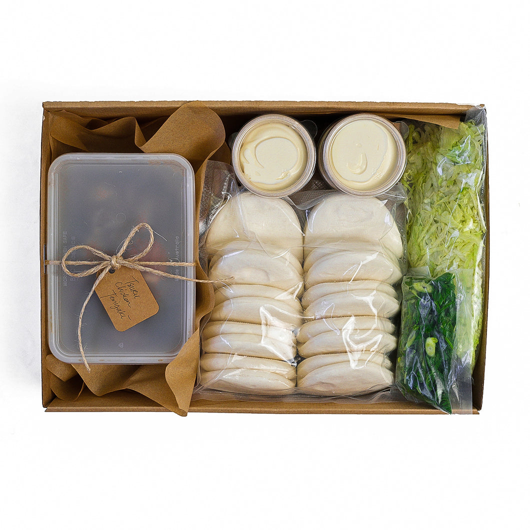 Tsuru Bao Kit – Ready to Cook (Chicken Teriyaki)