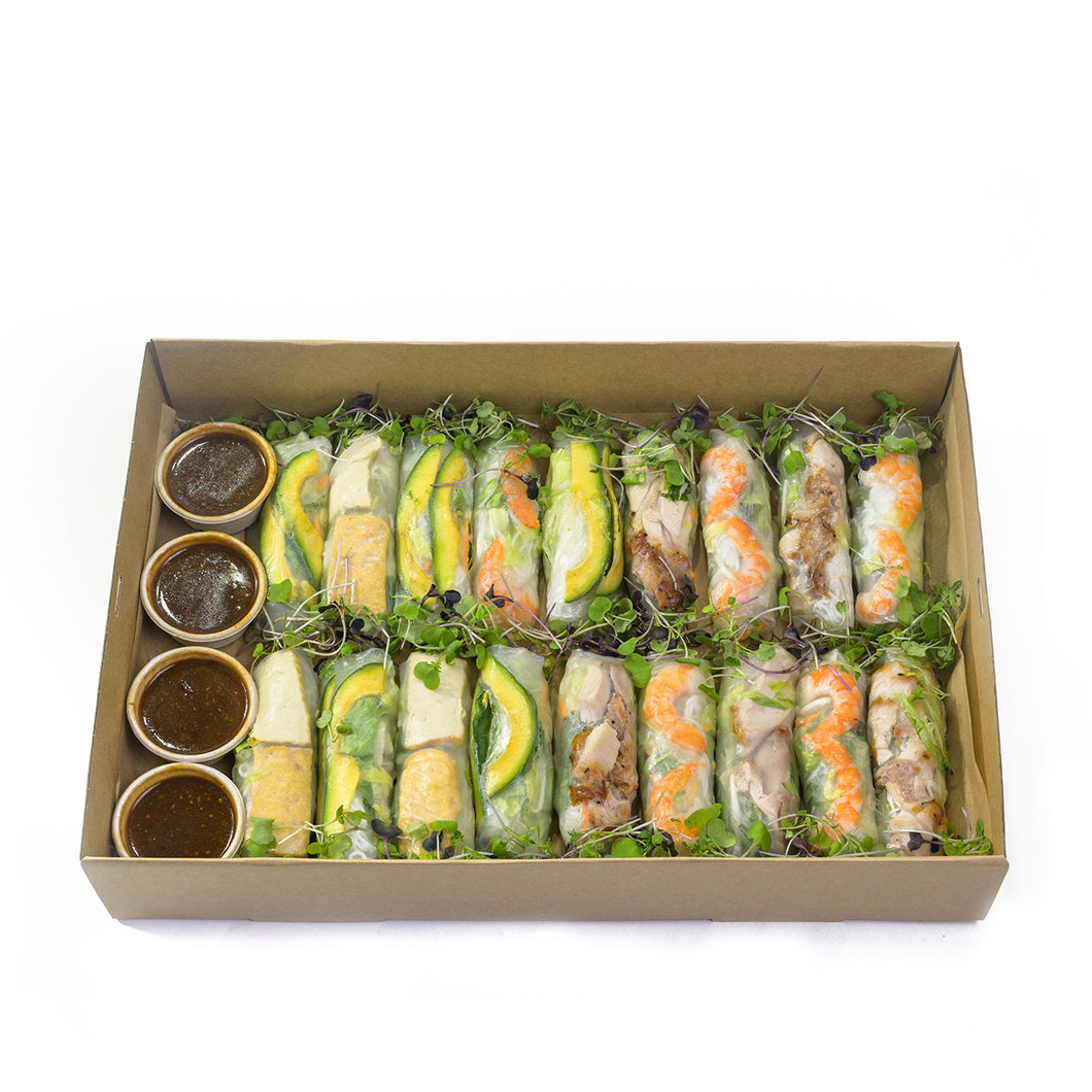 Assorted Rice Paper Rolls