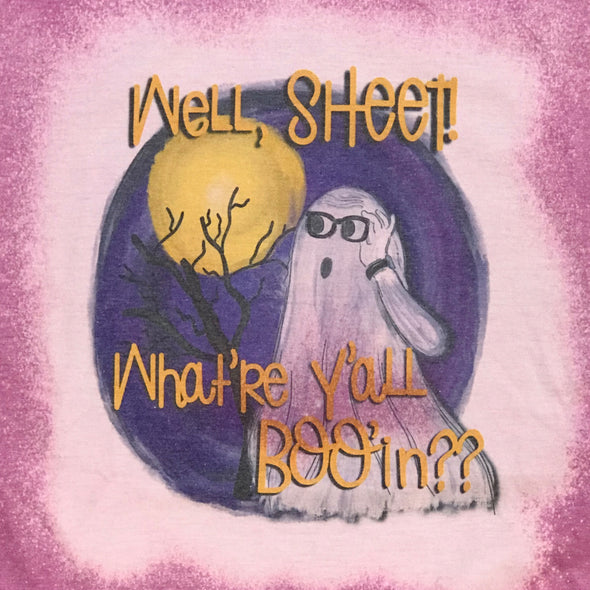 Lavender Watercolor Well Ghost Tshirt