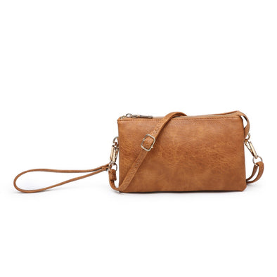 Saddle Wristlet Crossbody Purse
