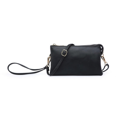 Black Wristlet Crossbody Purse