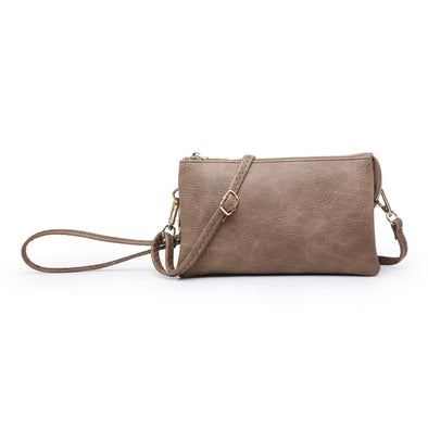 Clay Wristlet Crossbody Purse