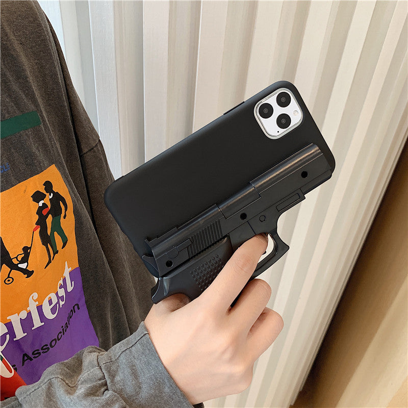 Gun-like phone case