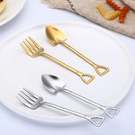 MODERN. Stainless Steel Pitch Fork | 2PC Set