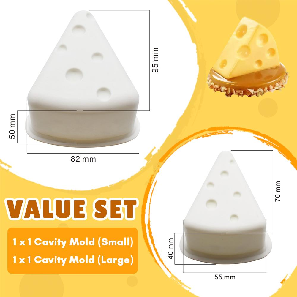 3D Cartoon Cheese Mold