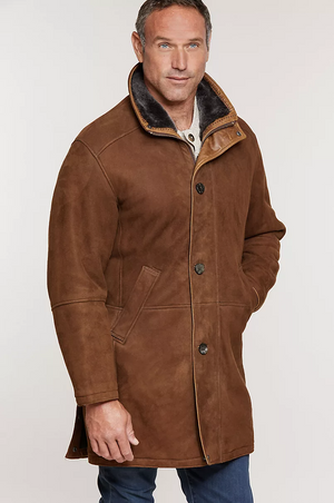 Spanish Merino Shearling Sheepskin Coat