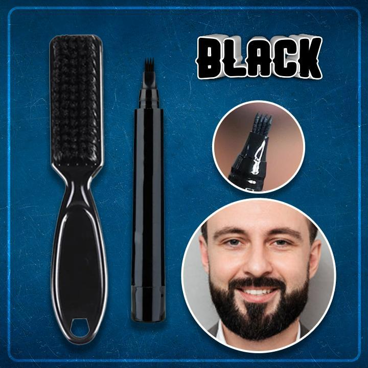 Beard Fill-Up Pen Kit (2-pc Set)