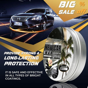 Coating wax for cars