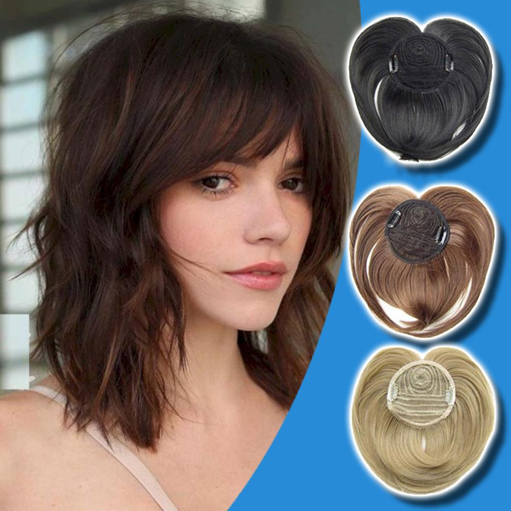 【BUY 2 GET 1 FREE】Silky Clip-On Hair Topper