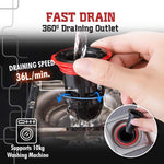 Anti-Odor Sewer Core Drain Backflow Preventers - 3PCS