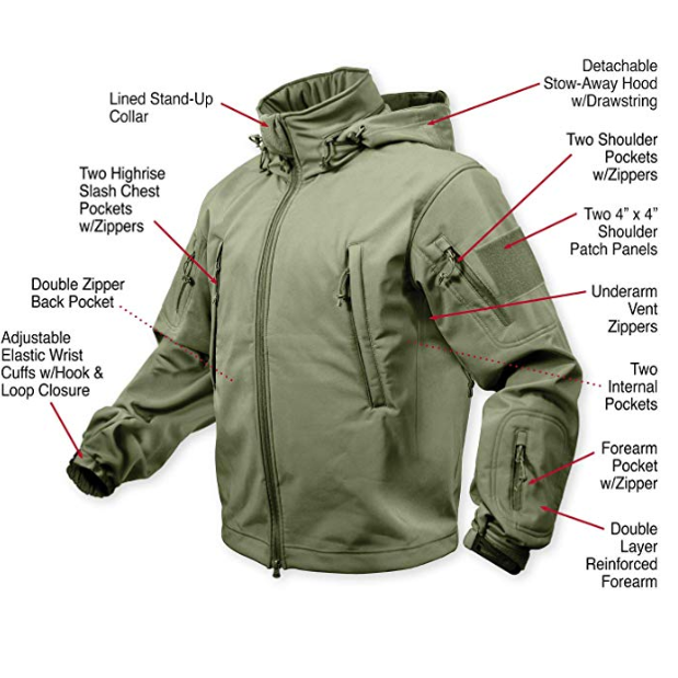 Versatile Tactical Waterproof Military Jacket