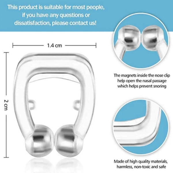 Anti Snore Magnetic Nose Clip