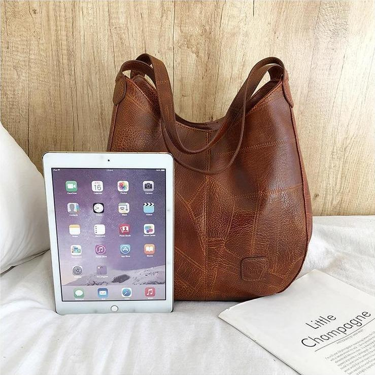 2020 Newest Soft Leather Shopping Bag