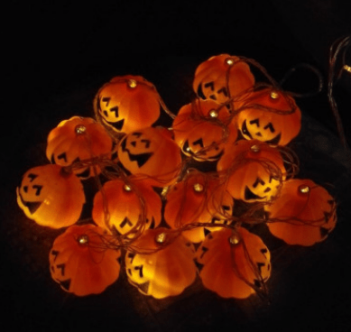 Halloween Pumpkin LED String Light - Gadgetli Store