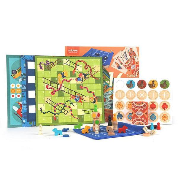 16 in 1 Checkerboard Game - Gadgetli Store