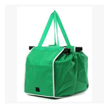 Eco-Friendly Foldable Reusable Shop Handbag - Gadgetli Store