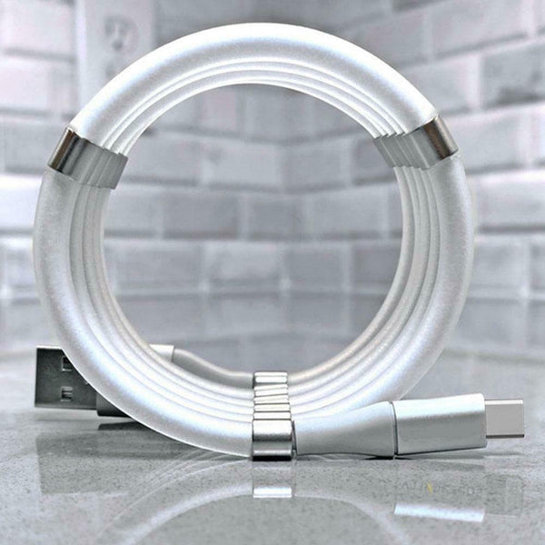 Magic Rope Magnetic Data Cable for Android & IOS - Gadgetli Store