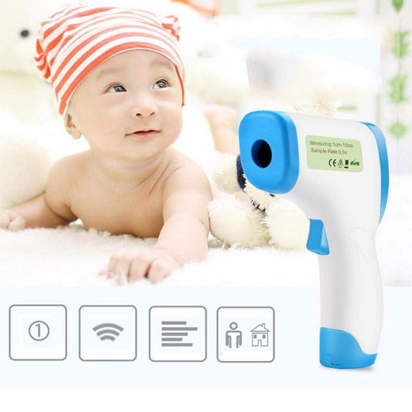 Digital Infrared Forehead and Ear Thermometer - Gadgetli Store
