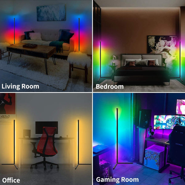Koana-Adjustable LED floor lights - Gadgetli Store