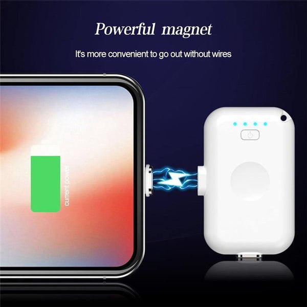Mini Magnetic Power Bank 1200mAh - Gadgetli Store