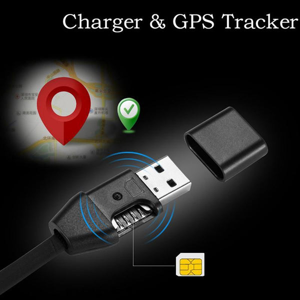 Car GPRS Tracking Hidden in Micro USB Cable Real Time GSM/GPRS Tracking - Gadgetli Store