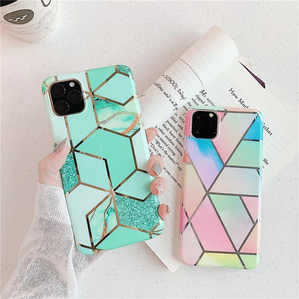 Marble texture cover for iPhone - Gadgetli Store