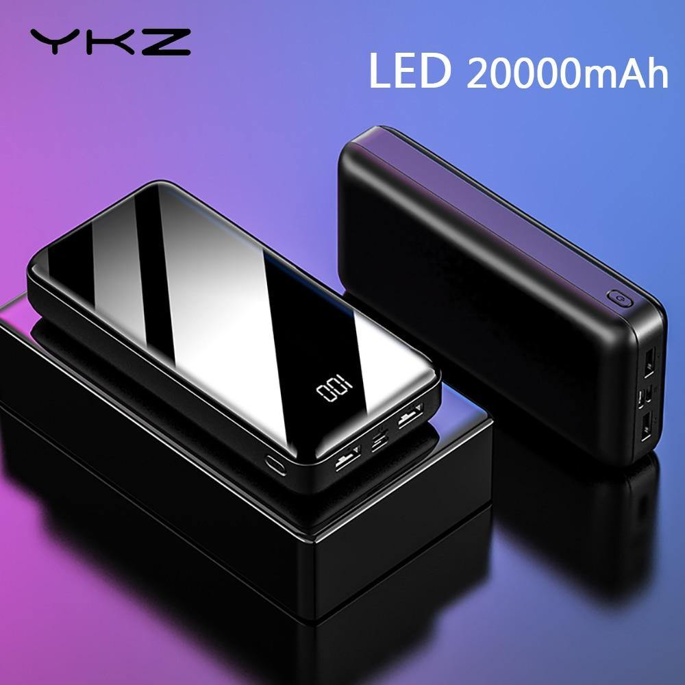 Power Bank LED Digital Display 20000mAh - Gadgetli Store