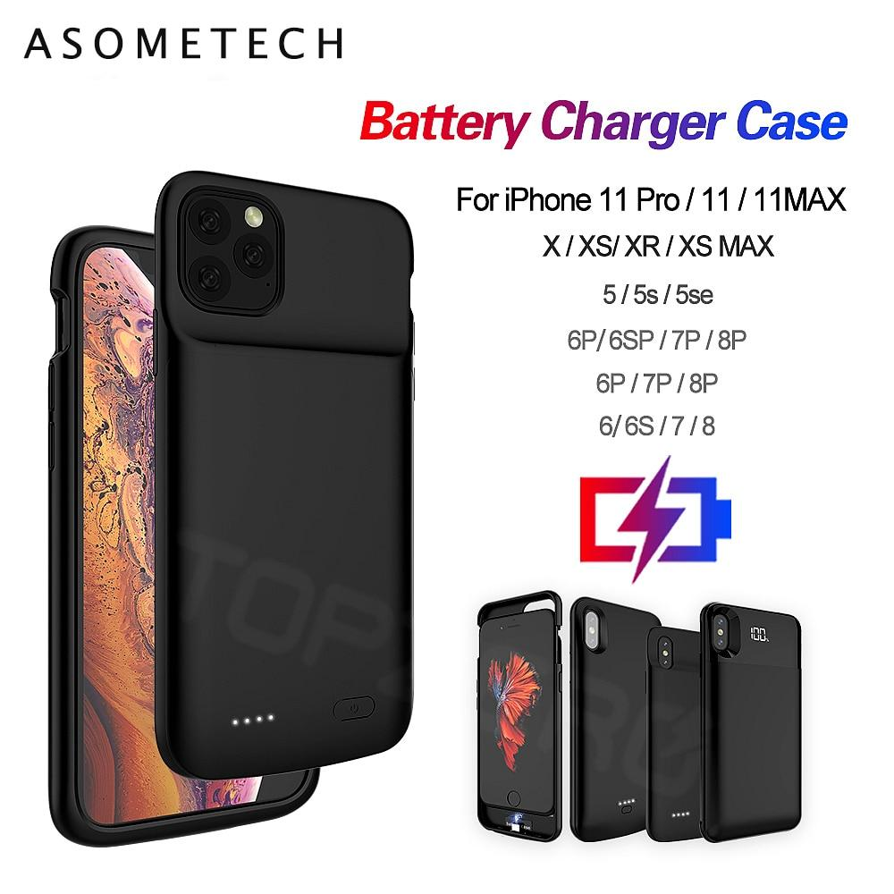 Phone Battery Charger Case Ultra Thin 5000mAh - Gadgetli Store