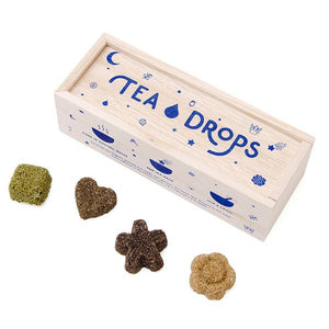Tea Drops - Classic Assortment Wooden Box - Most Popular Flavors!
