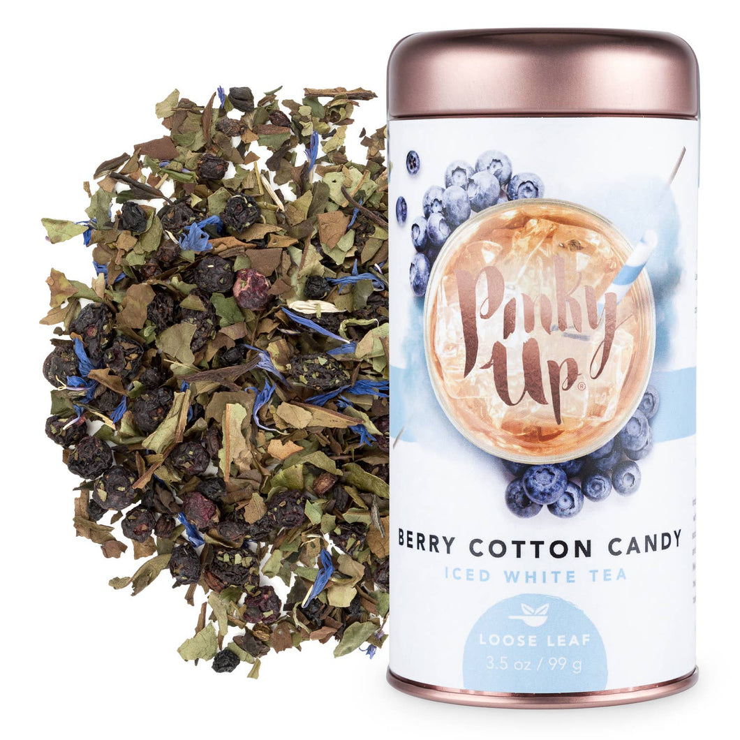 Berry Cotton Candy - Loose Leaf White Iced Tea