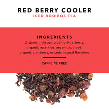 Load image into Gallery viewer, Red Berry Cooler - Organic Loose Leaf Iced Rooibos Tea