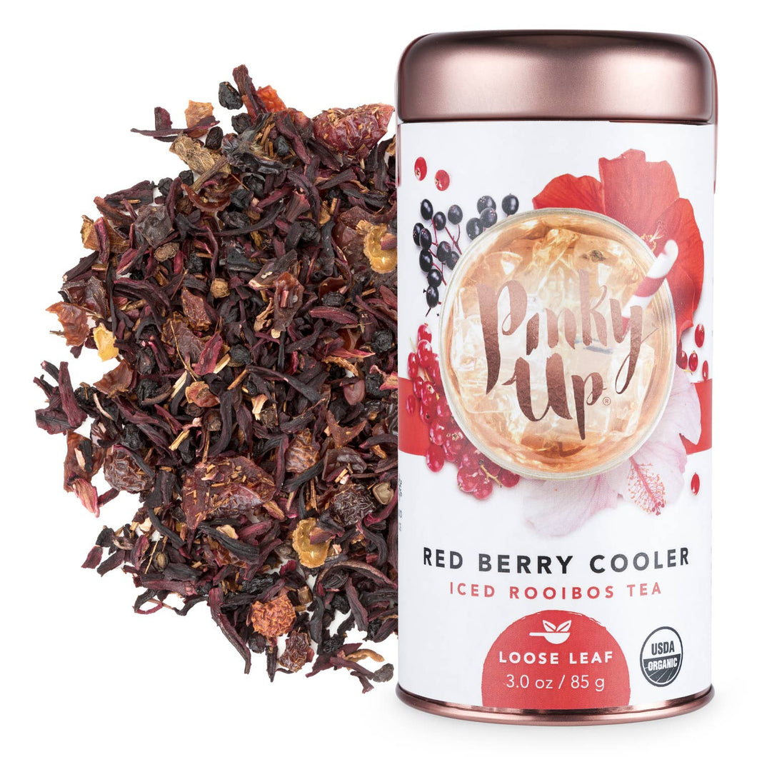 Red Berry Cooler - Organic Loose Leaf Iced Rooibos Tea