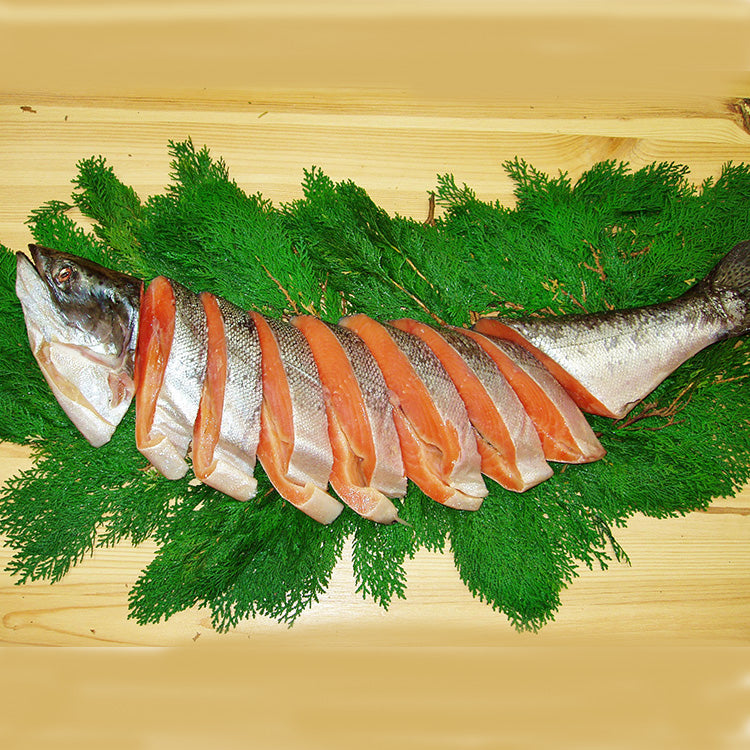 Lightly Salted Whole King Salmon