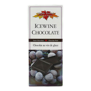 Icewine Dark Chocolate Bar 100g