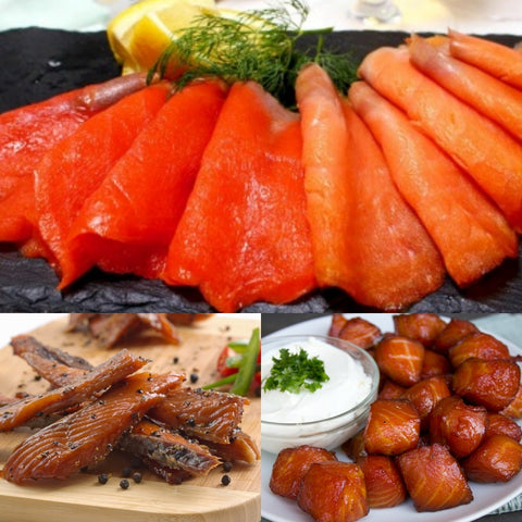 Canadian Smoked Salmon Set