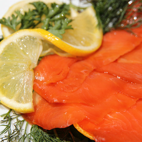 Sockeye Smoked Salmon Wholeside