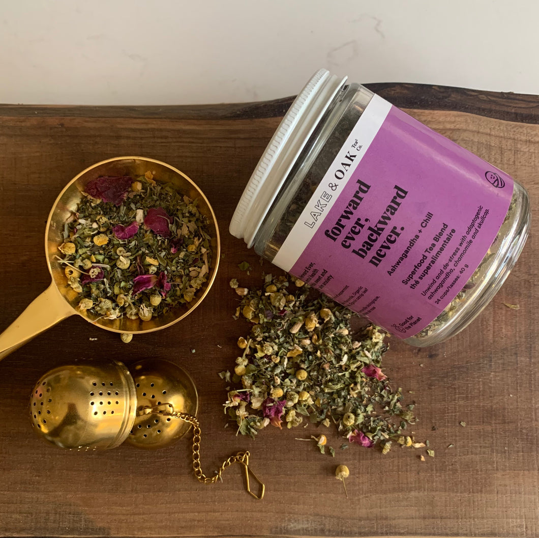 A Superfood Tea Collaboration with Lake + Oak Tea Co.