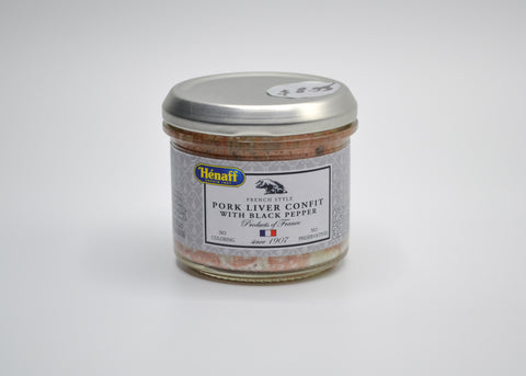 Henaff - French Pork Liver Confit with Peppercorn
