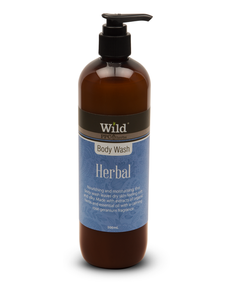 Wild Herbal Organic Body Wash
