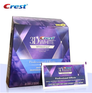 Crest 3D Professional Effects Teeth Whitening Strips Whitestrips Luxe