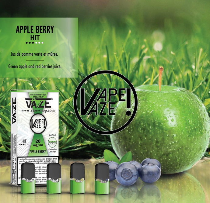 Vaze Apple Berry - Cartouches x4