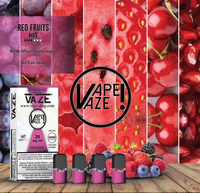 Vaze Red Fruits - Cartouches x4